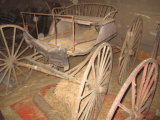 Horse Carriage - wear at foot rest