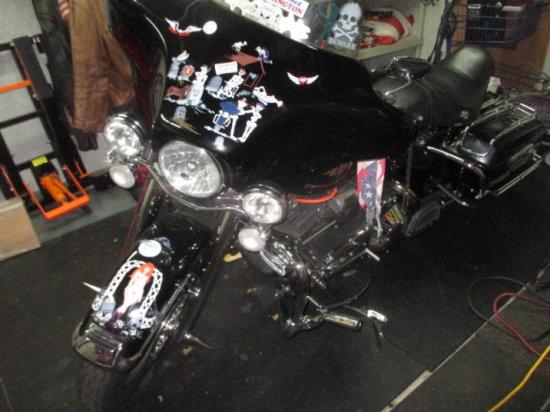 2000 Harley Davidson FLHRI Road Glide Motorcycle - 92,812 miles