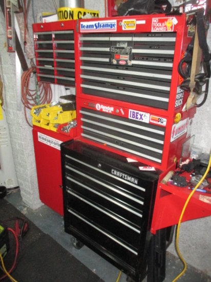 Craftsman Rolling Tool Chest Loaded with Ratchets, Wrenches and Other Tools