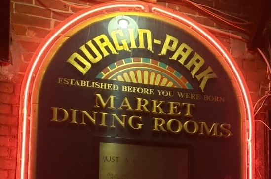 Durgin Park restaurant memorabilia & advertising