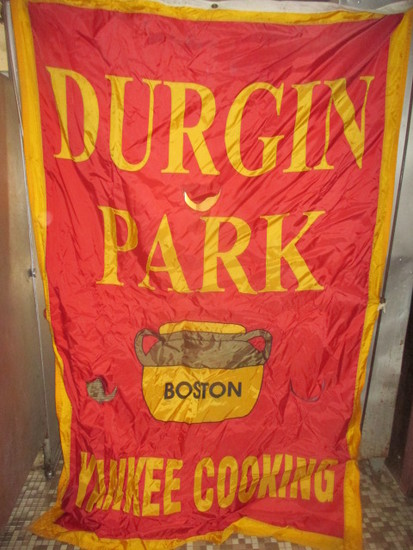"Durgin Park Yankee Cooking banner 53"" X 80"""