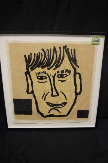 Baechler, Donald; woodcut on paper