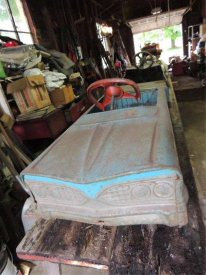 Metal pedal Car