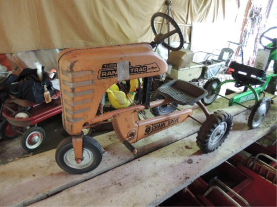 AMF Metal Tractor