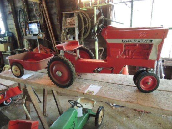 International Metal Tractor