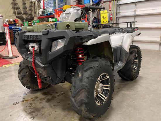 POLARIS SPORTSMAN 700 TWIN, ON DEMAND AWD, FRONT WINCH, RUNS AND OPERATES