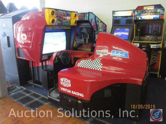 Virtua Racing Arcade Game Delu... Auctions Online