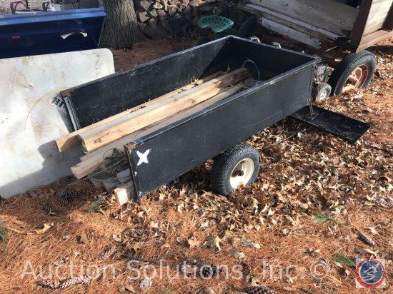 Agri-Fab 17 Cu Ft, Single axle garden trailer