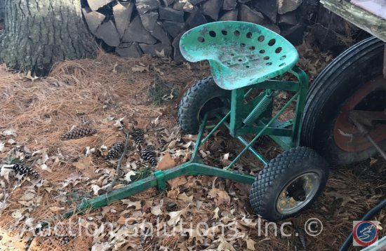 Lawn Mower Sulky Seat
