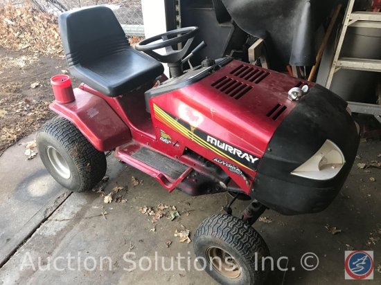 Murray 16 HP 46 in. Hydrostatic Lawn Tractor. (No Battery, Has not been started)