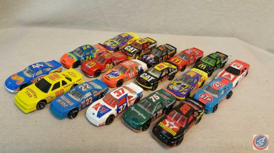(18) Racing Champions die cast cars.