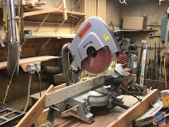 Hitachi 380 mm (15 inich) Miter Saw with spare blade. Model C15FB