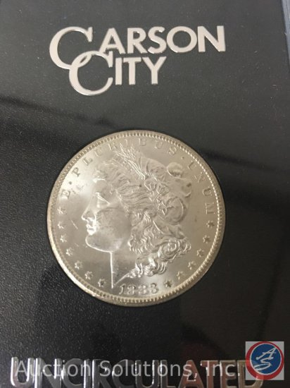 1883 Carson City Silver Dollar Uncirculated