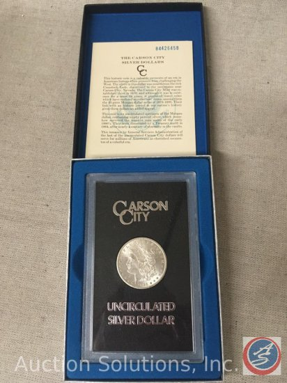 1884 Carson City Silver Dollar Uncirculated
