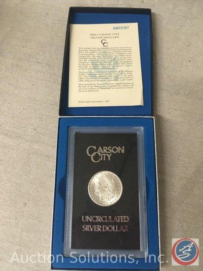 1884 Carson City Silver Dollar Uncirculated