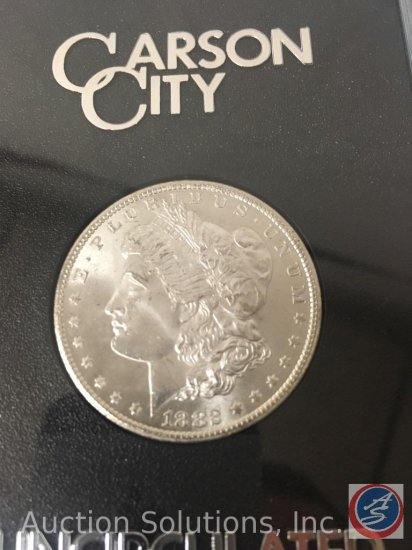 1882 Carson City Silver Dollar Uncirculated