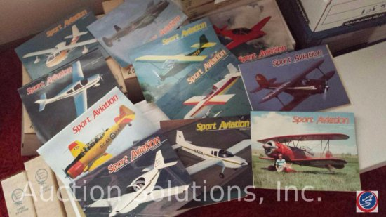 Vintage Aviation Enthusiast Magazines - Experimental Aircraft Association (EAA) Periodicals and