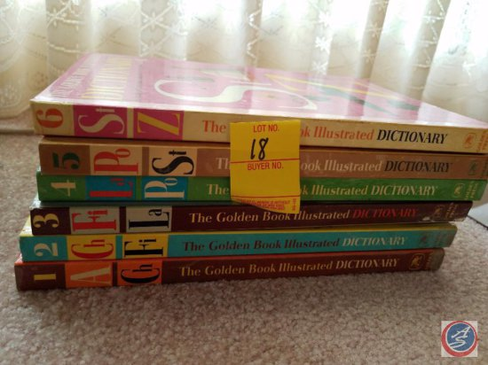 Complete Set of The Golden Book Illustrated Dictionary