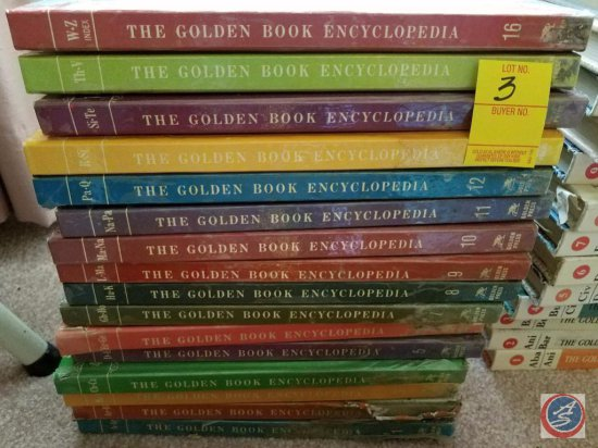 Complete Set of The Golden Book Encyclopedia