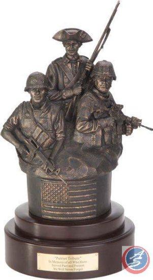 Patriot Tribute Sculpture