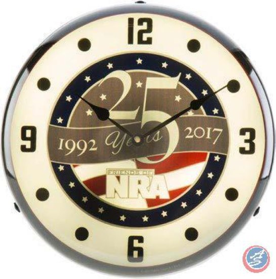 Limited Edition Clock with Anniversary Logo