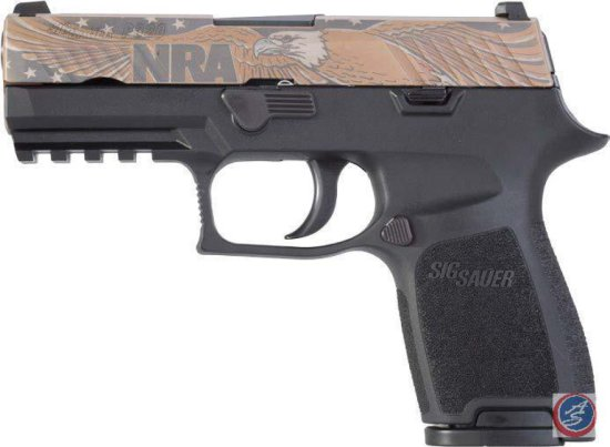 Sig Sauer P320 Compact 9mm with NRA Logo*