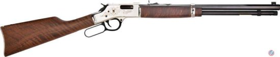 Henry Big Boy Silver Lever Action Rifle .44 Mag with Anniversary Logo