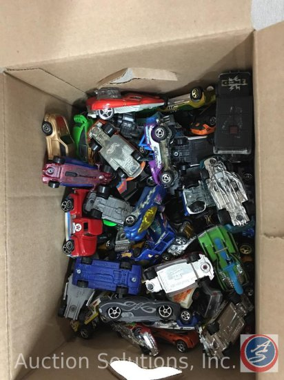 (1) Box of 150 Loose Matchbox, Die Cast Metal and Plastic Cars