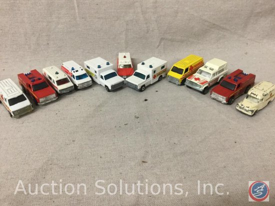 (11) Tomica, Matchbox, hot Wheels: Fire and Rescue Vehicles
