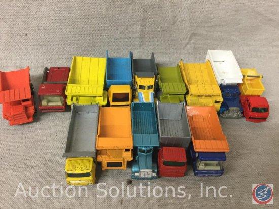 (14) Assorted Die-Cast Dump Trucks