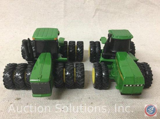 (2) Ertl John Deere Tractors: 8870 8 wheel, 9400 12 wheel