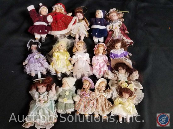 assorted misc. doll ornaments