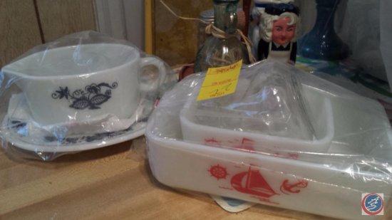 Vintage Pyrex Casserole Dishes