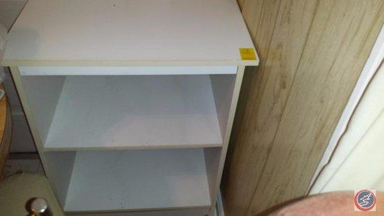 Small White Laminate Bookshelf