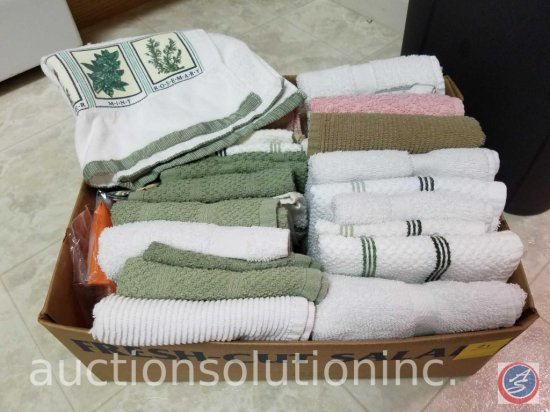 Box of Kitchen Towels