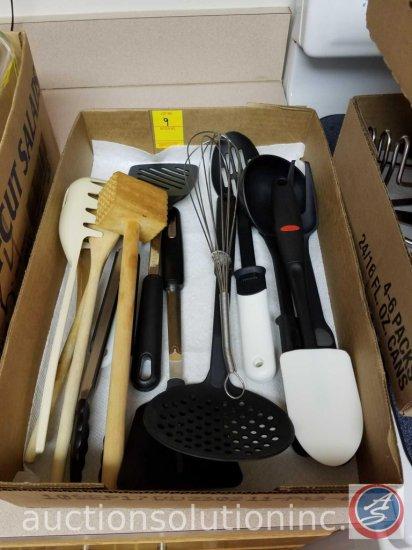 Cutting Board, Misc Kitchen Utensils