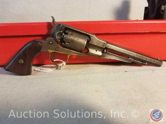 1861 Remington Navy Revolver .36 Cal w/ Hex Barrel w/ Wood Grips