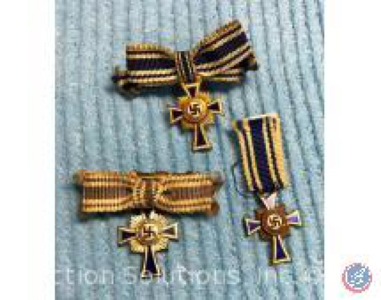[3] Nazi Mother's Cross Pins