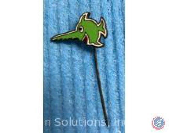 Green Submarine Pin