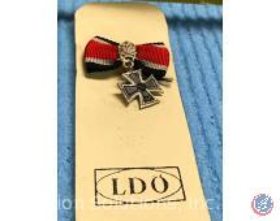 Cross on a Ribbon Pin