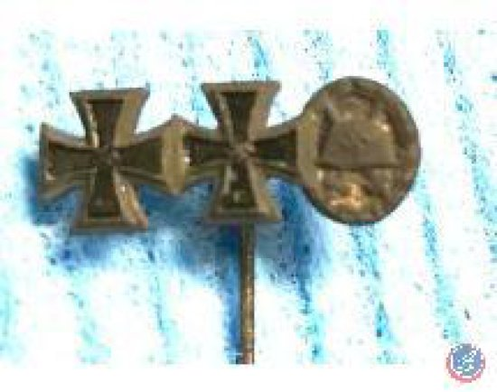WWII Iron Cross Wound Badge Black
