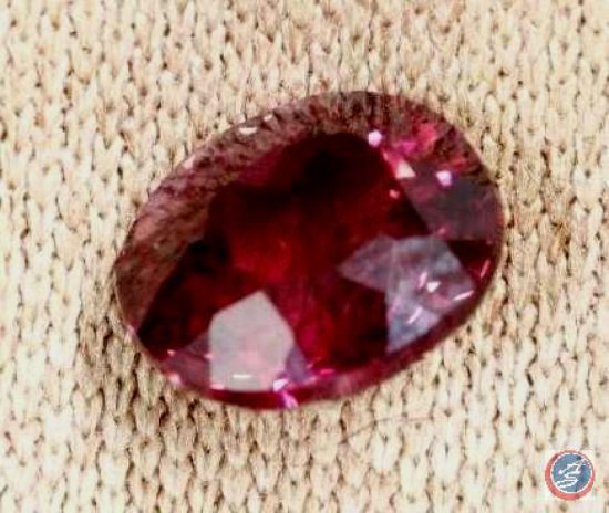 Rhodolite Garnet (Pyrope-Almandine) 1.72 Carats