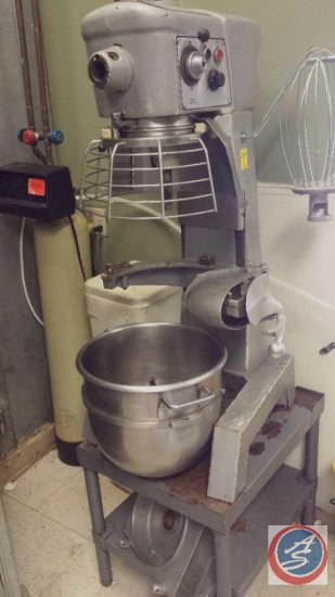 Hobart Model #B3007 Industrial Mixer w/ Attachments and Bowl