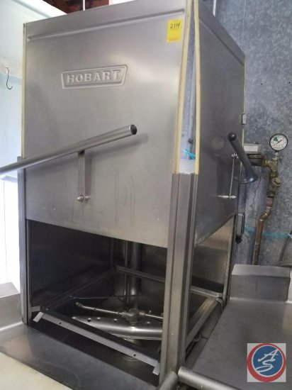 Hobart Commercial Dishwasher w/ Hatco Water Heater