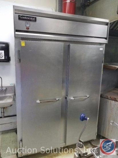 Continental Model 29 2-Door Stainless Steel Commercial Refrigerator/Freezer