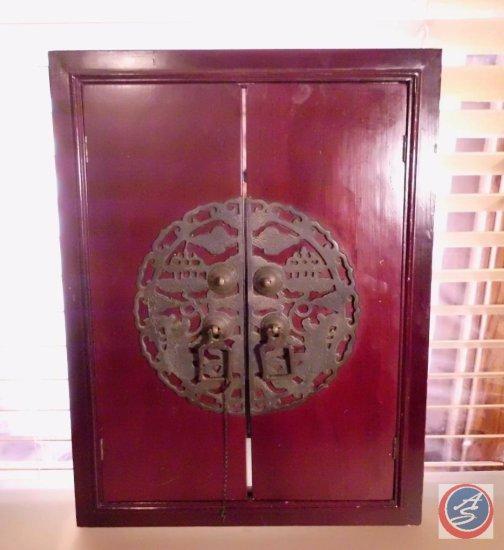 Oriental Mirror w/ Doors