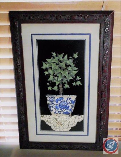 Framed Art [Tree in a pot]