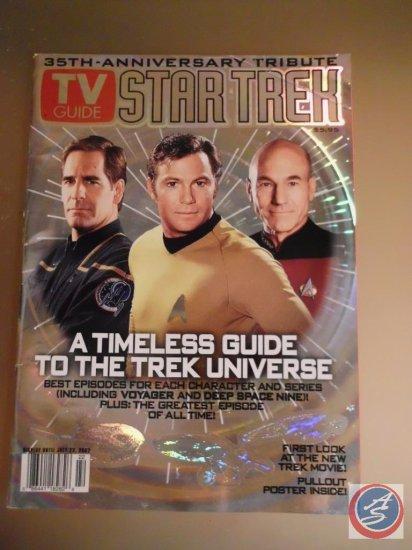 35th Anniversary July 22, 2002 Star Trek Cover TV Guide Magazine