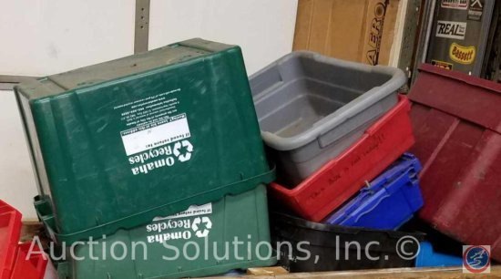 Recycle and Storage Bins