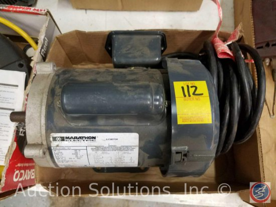 Marathon Electric AC Motor 1/3 Horse Model #5KC35MN145H
